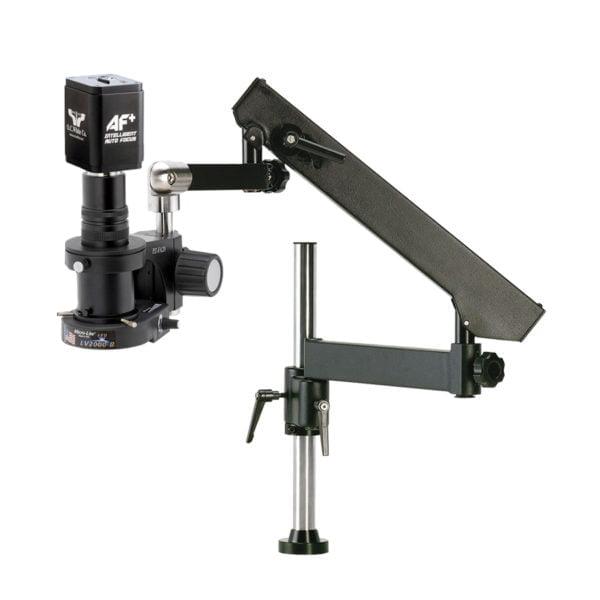 Turn-key MacZoom® Auto-Focus, Articulating Arm, No monitor