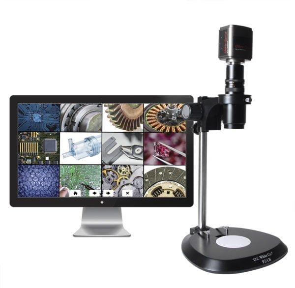 """Turn-key, MacZoom®, Lab-style base with 22"""" monitor"""