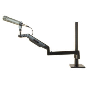 "Ultra Low Profile Mic Boom with 18"" riser"