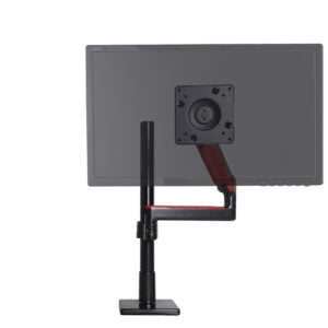 Limited Edition Scalable Monitor System (SMS) with Single Red Support Arm